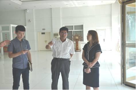 恒铸实业(上海)公司执行董事许豪杰一行莅临集团考察合作