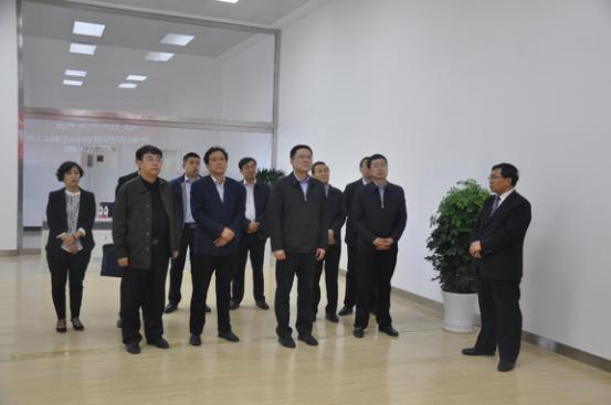 临汾市委常委、组织部部长刘文华莅临集团调研指导党建工作