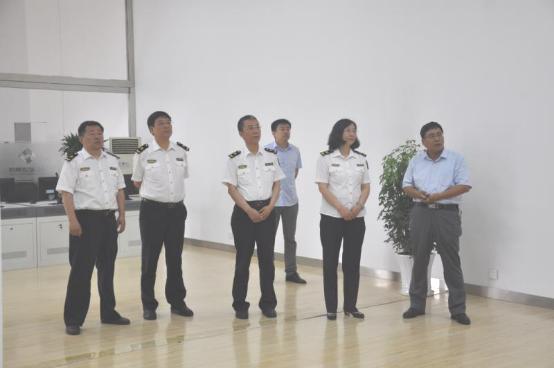 山西出入境检验检疫局党组成员、副局长 郑慧敏一行莅临集团视察调研