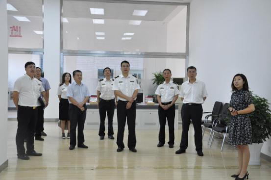山西出入境检验检疫局纪检组长张瑞宏一行莅临方略陆港集团考察调研