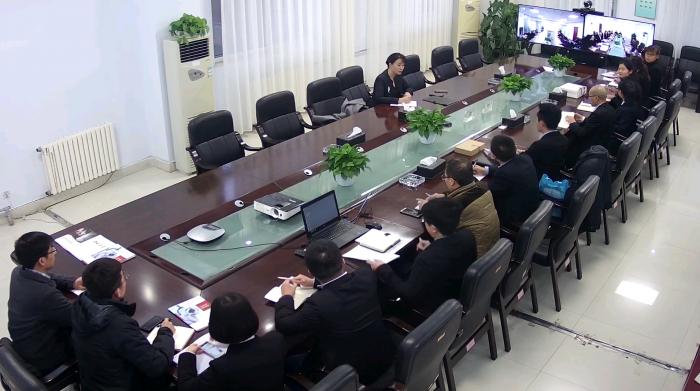 方略陆港集团董事长李海瑕主持召开医疗设备业务阶段性总结与工作部署会