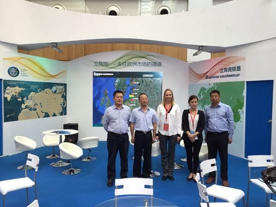 国际物流公司派员参加国际物博会